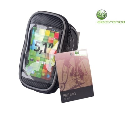 "BIKE BAG SMARTPHONE 5.1"" PRETO"