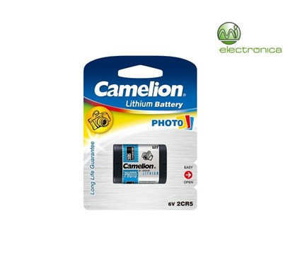 PILHA LITHIUM POWER 2CR5 BP1 CAMELION