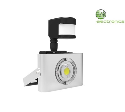 PROJECTOR LED COB C/ SENSOR 10W IP65 4000K