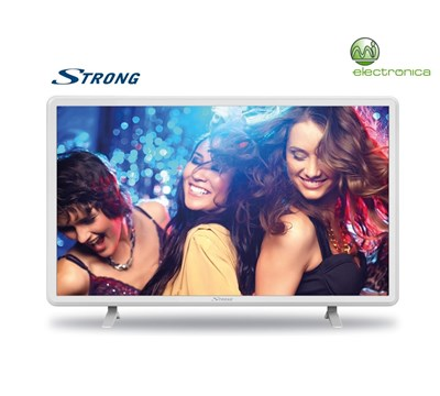 "TELEVISOR LED 32"" STRONG DVBT-T2 HD SATELITE BRANCO"