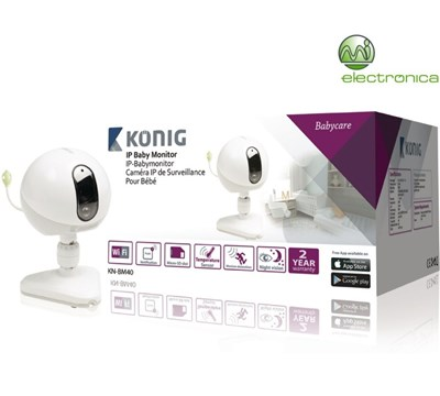 MONITOR IP WIRELESS C/ SENSOR TEMPERATURA