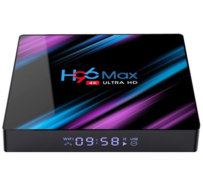 H96MAX SMART TV BOX 4K ANDROID 9.0 4GB/64GB